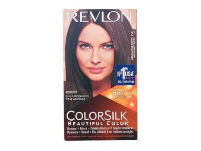 Tinta Sem Amoníaco Colorsilk Revlon Castanho quente profundo