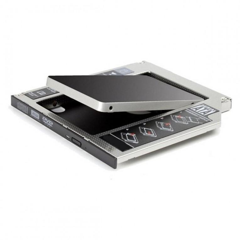 Adaptador HDD/SSD SATA para Unidade Ótica (12,7 mm) Ewent EW7005