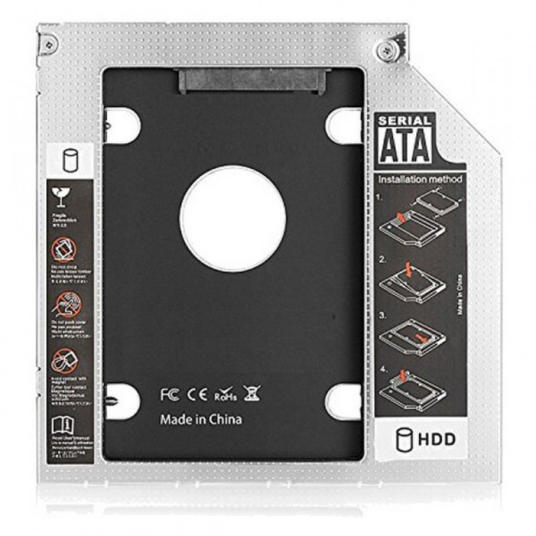 Adaptador HDD/SSD SATA para Unidade Ótica (9,5 mm) Ewent EW7003