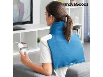 Almofada Elétrica para o Pescoço e Ombros InnovaGoods 40 x 40 cm 60W Azul