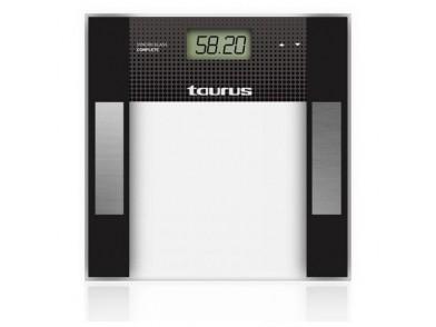 Balança digital para casa de banho Taurus Syncro Glass Complet