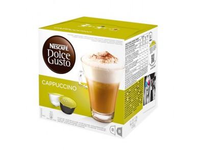 Cápsulas de Café com Estojo Nescafé Dolce Gusto 98492 Cappuccino (16 uds)