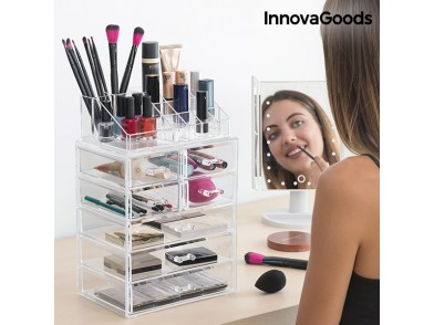 Organizador de Maquilhagem Acrílico InnovaGoods