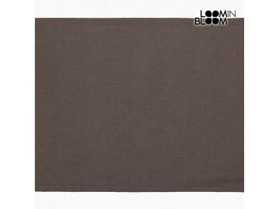 Toalha de Mesa Castanho (30 x 45 x 0,05 cm) by Loom In Bloom