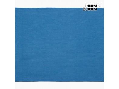 Toalha de Mesa Azul (30 x 45 x 0,05 cm) by Loom In Bloom
