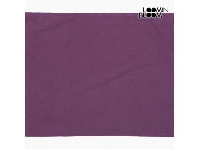Toalha de Mesa Violeta (30 x 45 x 0,05 cm) by Loom In Bloom