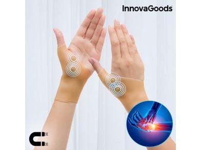 Pulso Elástico de Compressão com Pontos Magnéticos InnovaGoods (Pack de 2)