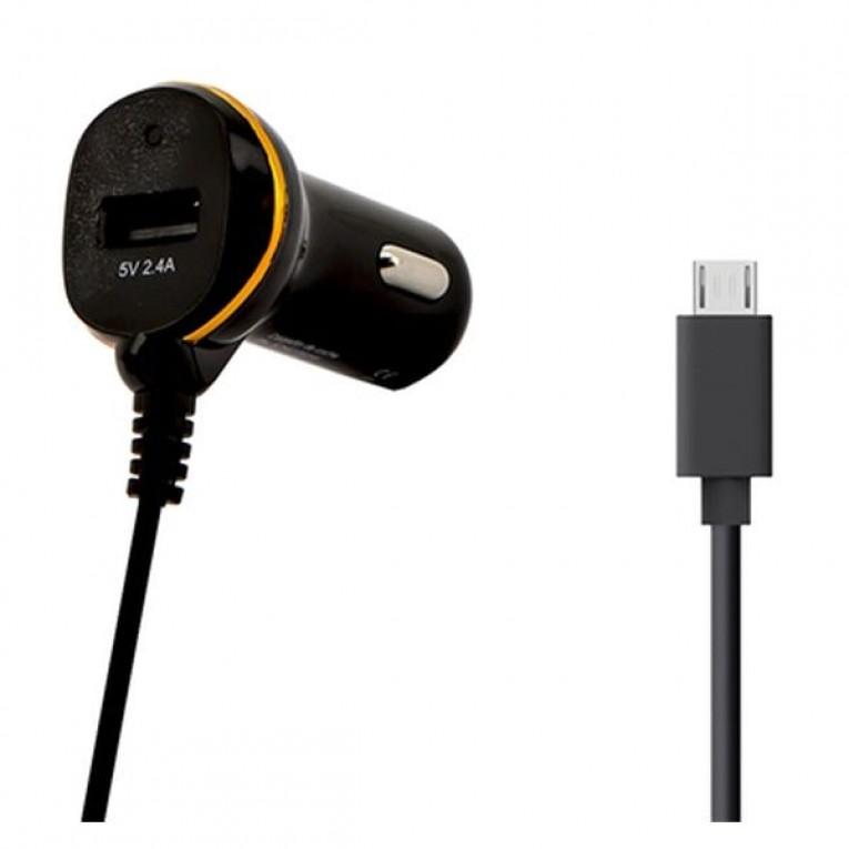 Carregador de Carro Ref. 138208 USB Micro USB Preto