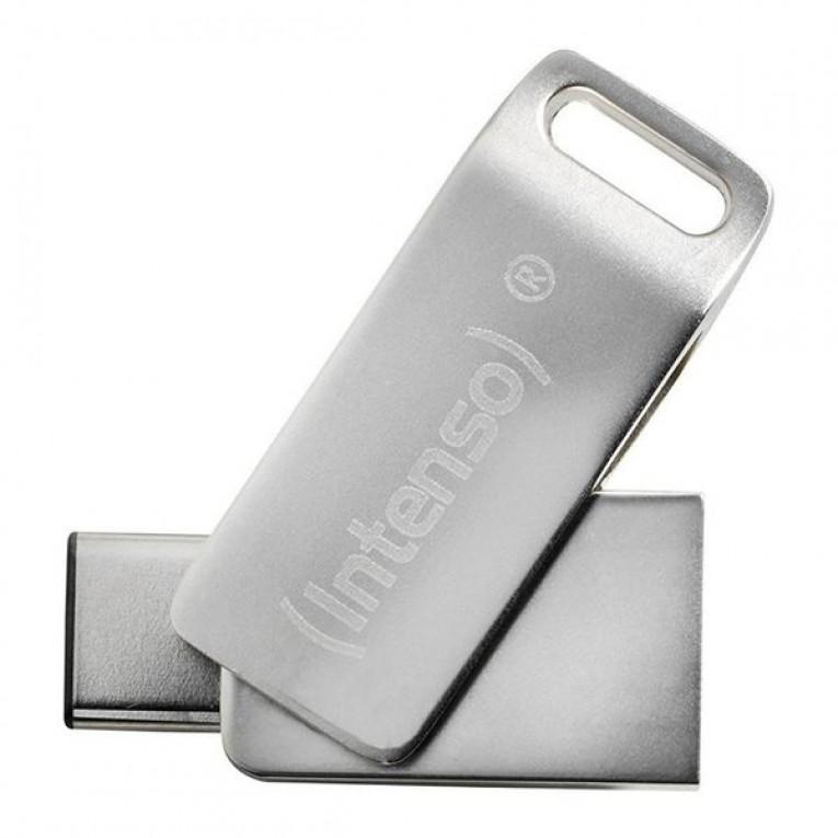 Memória USB INTENSO 3536470 16 GB Prateado