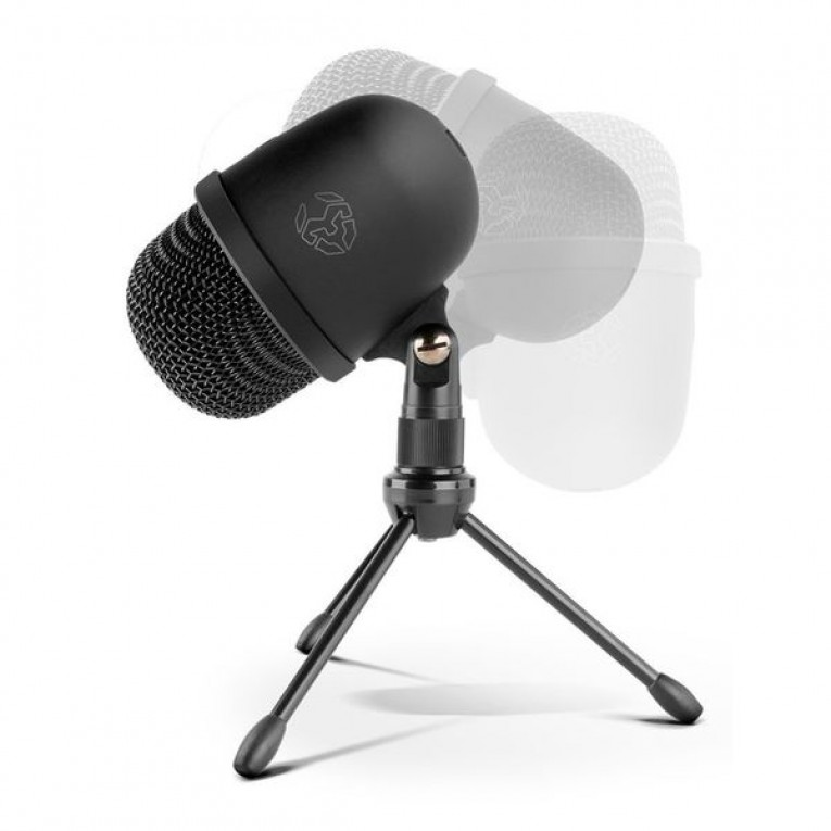 Microfone de mesa KROM NXKROMKIMUPRO USB Preto