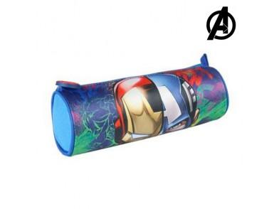Bolsa Escolar Cilíndrica The Avengers 8621
