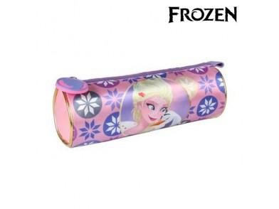Bolsa Escolar Cilíndrica Frozen 8645