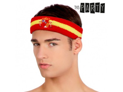 Fita para o Cabelo Bandeira de Espanha Th3 Party