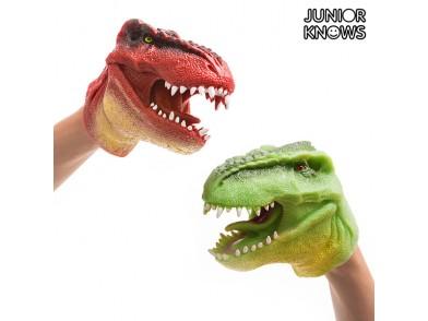 Fantoche de Mão Dinossauro Junior Knows