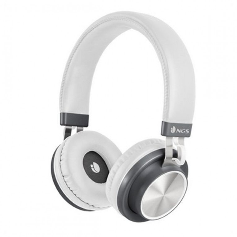 Auriculares Bluetooth com microfone NGS ARTICAPATROLWHITE Branco