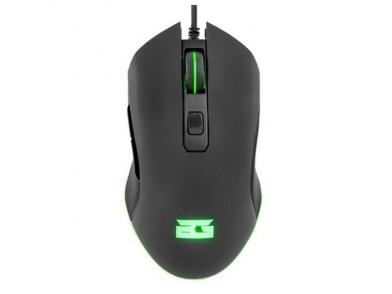 Rato Gaming com LED BG BGAPACHE 3200 dpi Preto