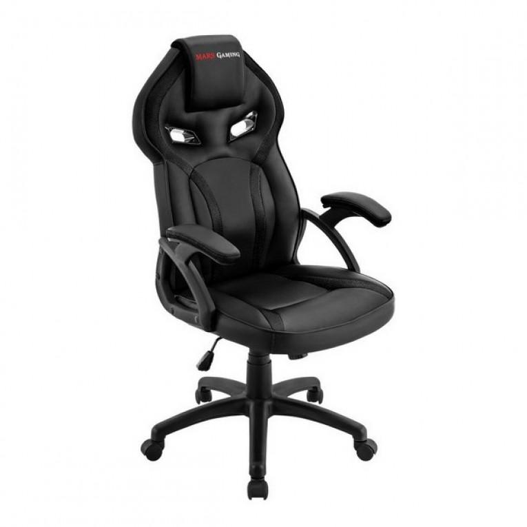 Cadeira de Gaming Mars Gaming MGC118BK Preto