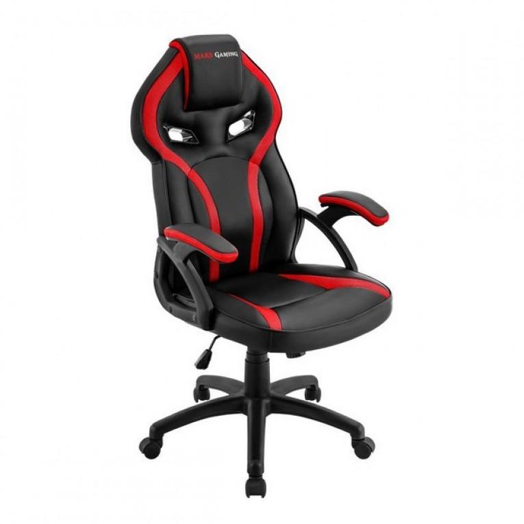Cadeira de Gaming Mars Gaming MGC118BR Preto Vermelho
