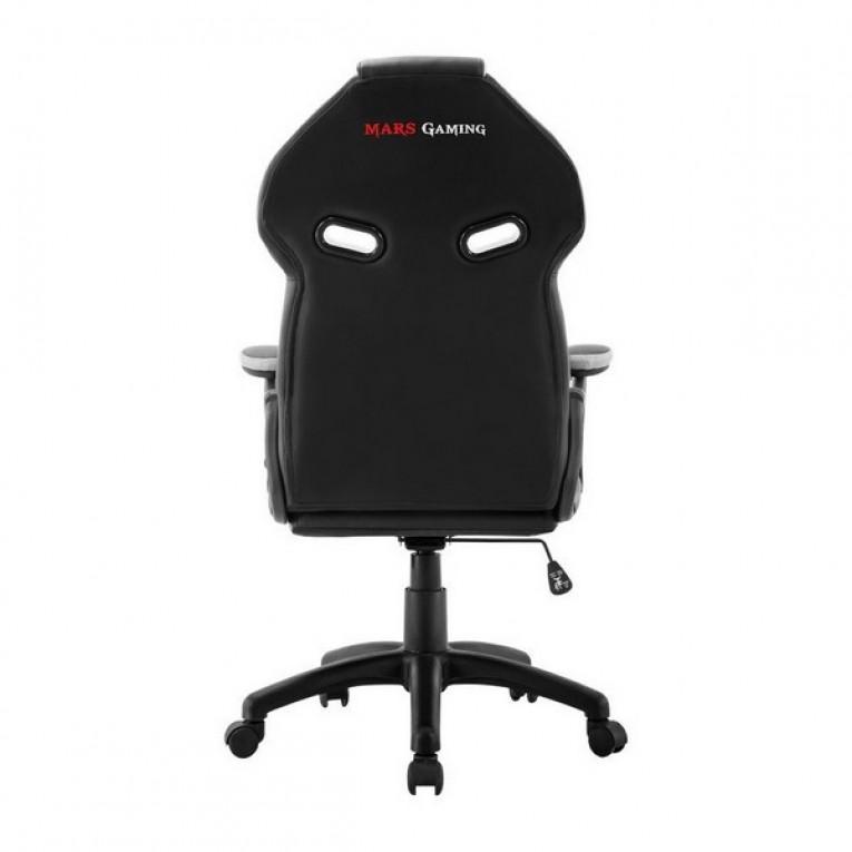 Cadeira de Gaming Mars Gaming MGC118BW Preto Branco
