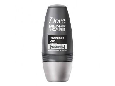 Desodorizante Roll-On Men Invisible Dry Dove (50 ml)