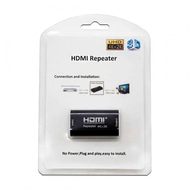 Repetidor HDMI NANOCABLE 10.15.1201 Preto