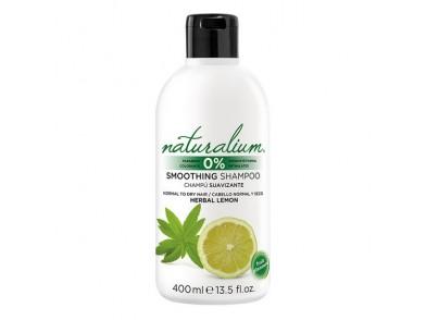 Champô Suavizante Herbal Lemon Naturalium (400 ml)