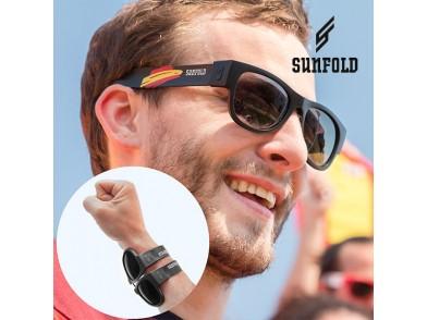 OUTLET Óculos de Sol Enroláveis Sunfold Spain Black (Sem embalagem)