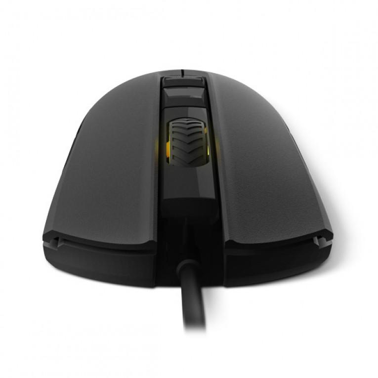 Rato Gaming com LED Krom KOLT 4000 DPI Preto