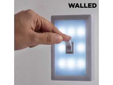 Luz LED Portátil com Interruptor Walled SW15