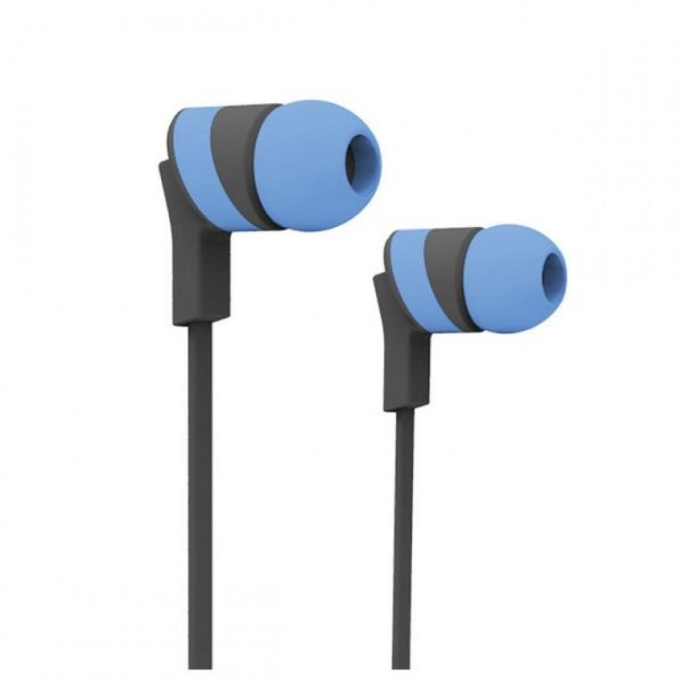 Auriculares Bluetooth com microfone para prática desportiva Ref. 101394 Azul