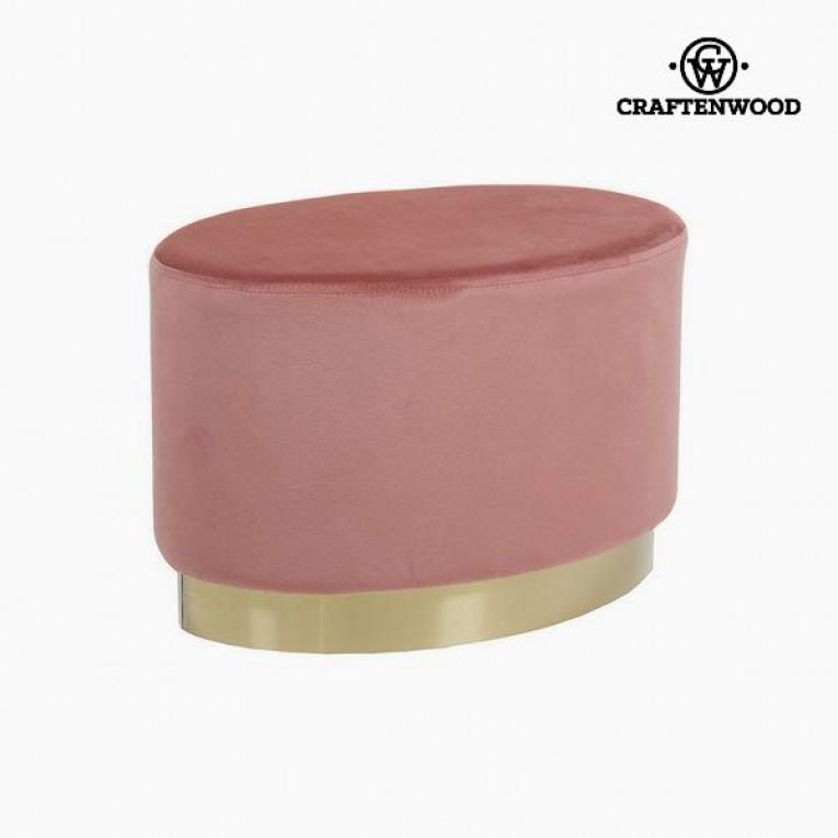 Banqueta (52 x 35 x 35 cm) Cor de rosa