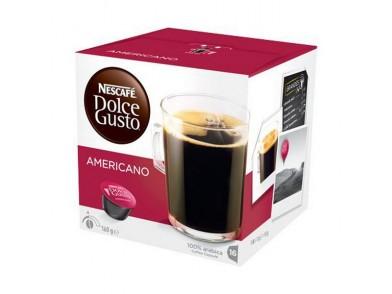 Cápsulas de café Nescafé Dolce Gusto 43352 (16 uds) Americano