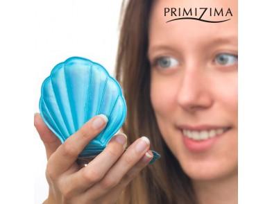Espelho Duplo de Bolso Concha do Mar Primizima