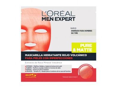 Máscara Facial Peel Off Men Expert L'Oreal Make Up (1 uds)