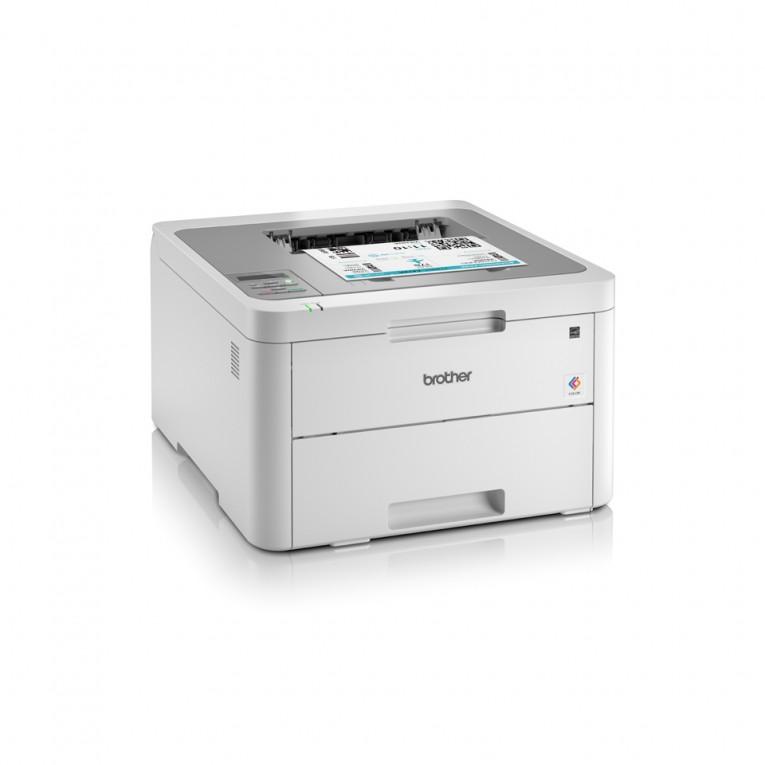 Impressora Brother HL-3210CW WIFI LED 256 MB Branco