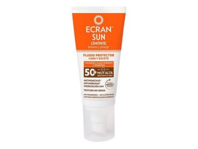 Protetor Solar Facial Sun Lemonoil Ecran SPF 50
