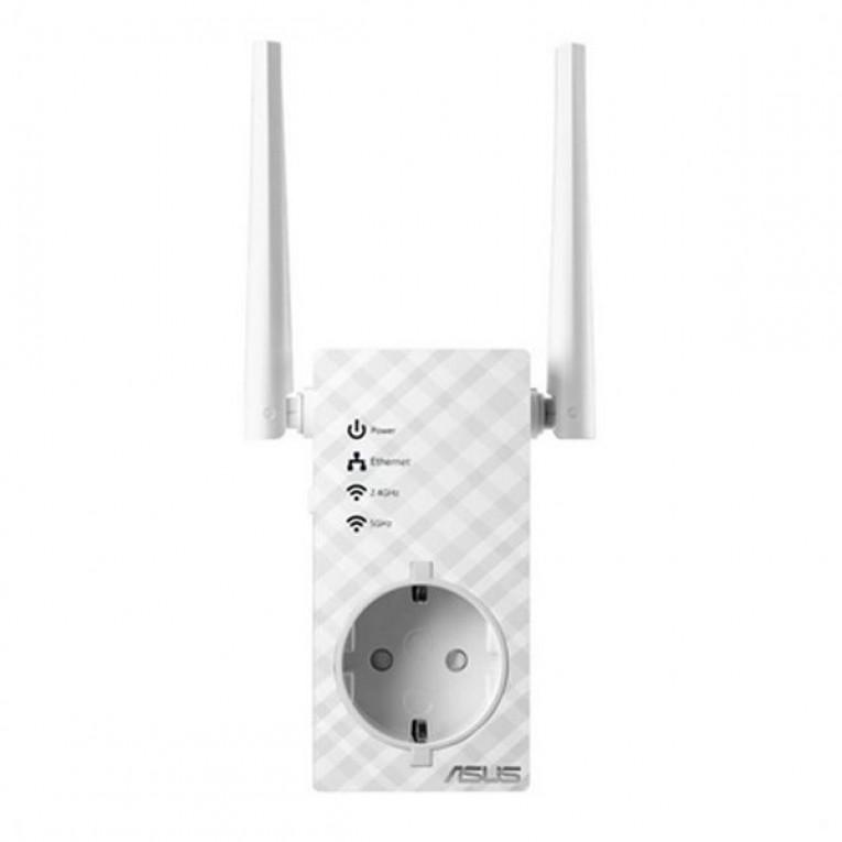 Ponto de Acesso Repetidor Asus RP-AC53 5 GHz Branco
