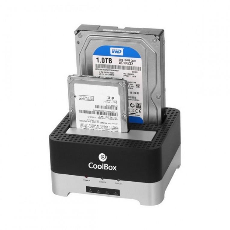Caixa externa CoolBox COO-DUPLICAT2 2,5