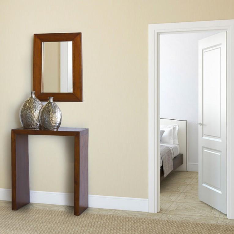 Hall de Entrada (81 x 70 x 30 cm) Madeira de cedro - Chocolate Coleção