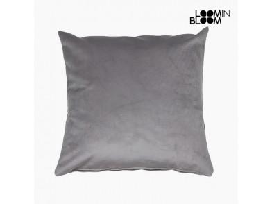Almofada (45 x 45 x 10 cm) Poliéster Cinzento