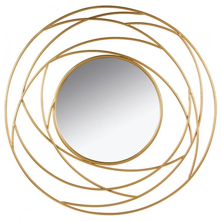 Espelho Golden Eye (100 x 3 x 100 cm)