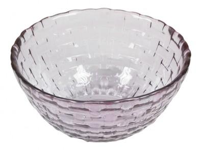Saladeira de Vidro Reciclado (Ø 17 cm) Roxa - Crystal Colours Kitchen Coleção