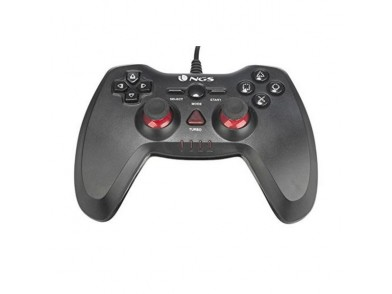 Comando Gaming NGS NGS-GAMING-0015 PC/PS3 USB LED Preto