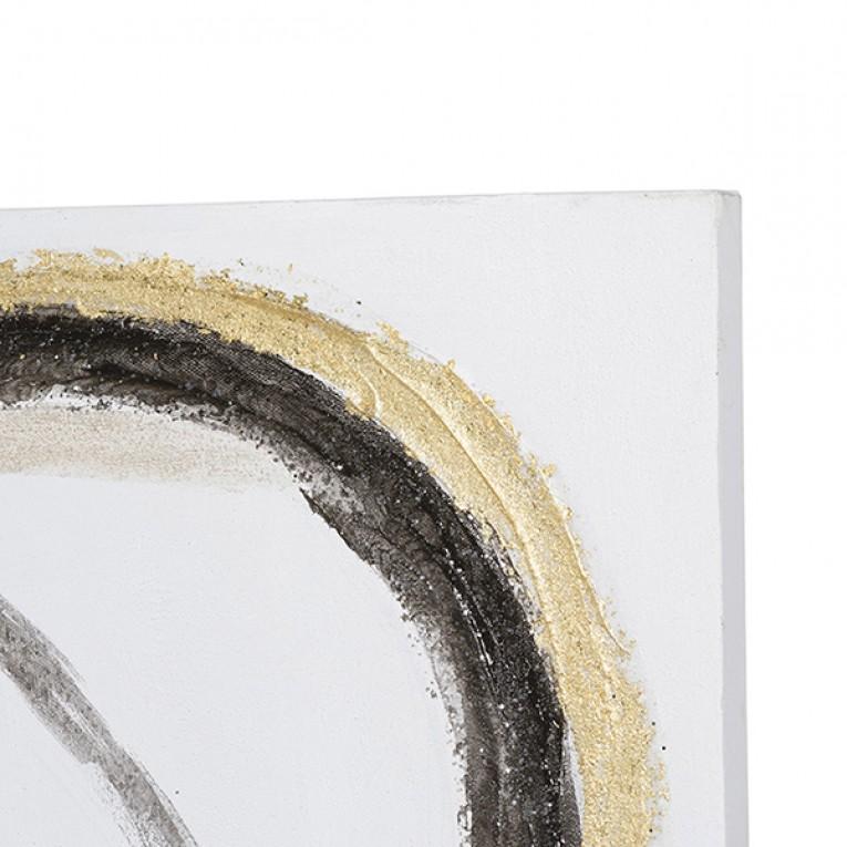 Pintura a Óleo Abstract (50 x 4 x 150 cm)