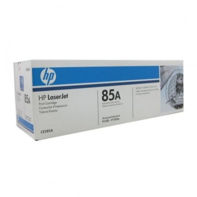 Tóner Original Hewlett Packard CE285A Preto
