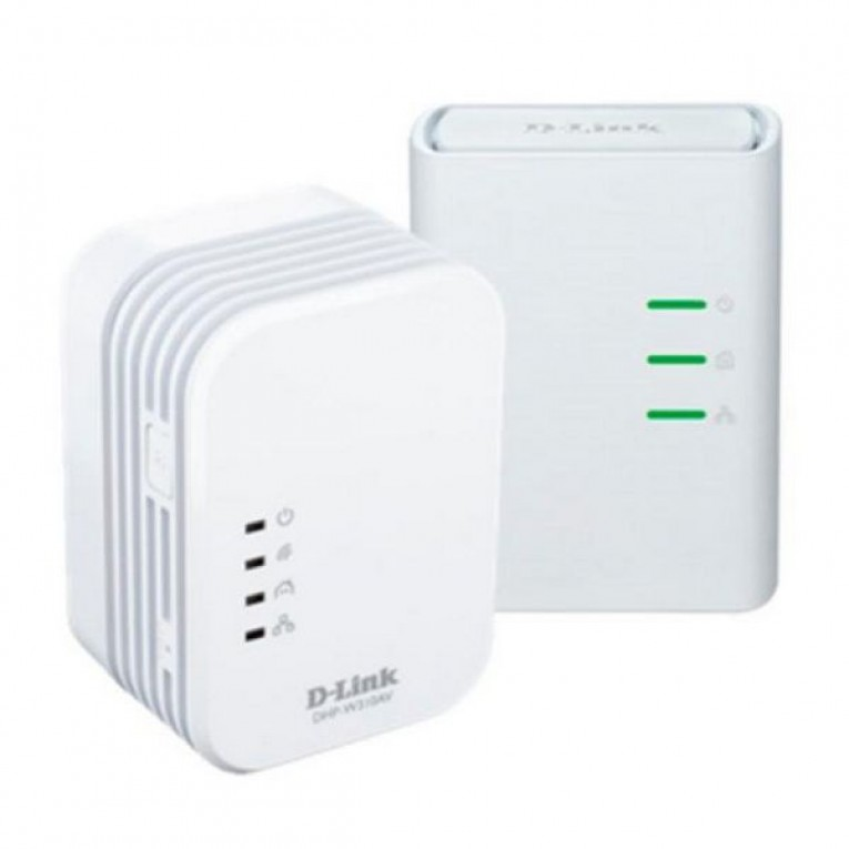 Adaptador PLC Wifi D-Link DHP-W311AV 300 Mbps Branco