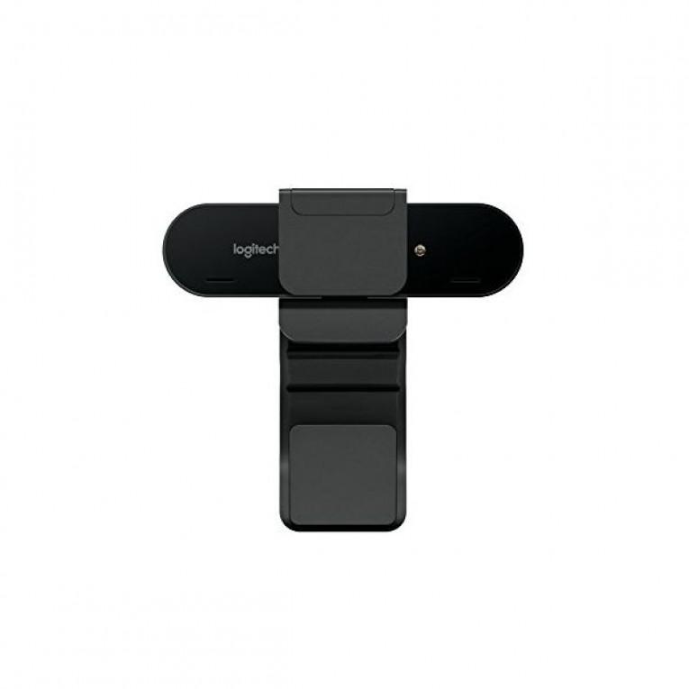 Webcam Logitech BRIO 4K Ultra HD RightLight 3 HDR Zoom 5x Streaming Infravermelhos Preto