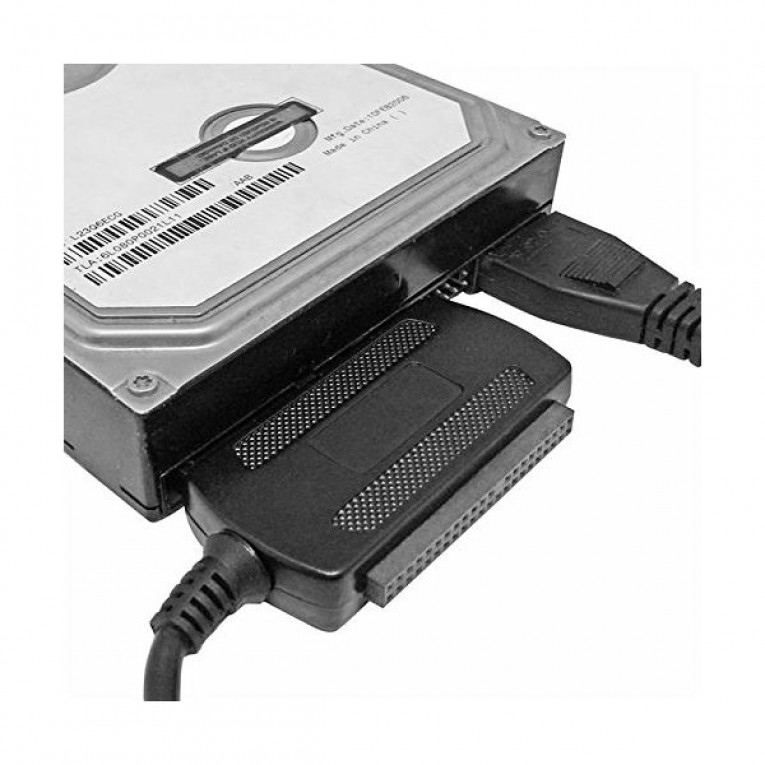 Adaptador USB 2.0 IDE SATA approx! APPC08 Plug & Play 40 e 44 pinos