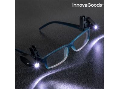 Clipe LED para Óculos 360º InnovaGoods (Pack de 2)