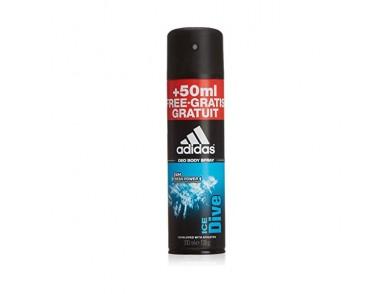 Desodorizante em Spray Ice Dive Adidas (200 ml)